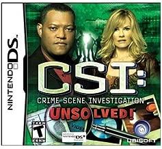 New Ubisoft Csi: Crime Scene Investigation: Unsolved! Action/Adventure Game Nintendo Ds
