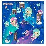 Martinelia Mermaid Kids Advent Calendar Package size: 41 * 41 * 4 cm