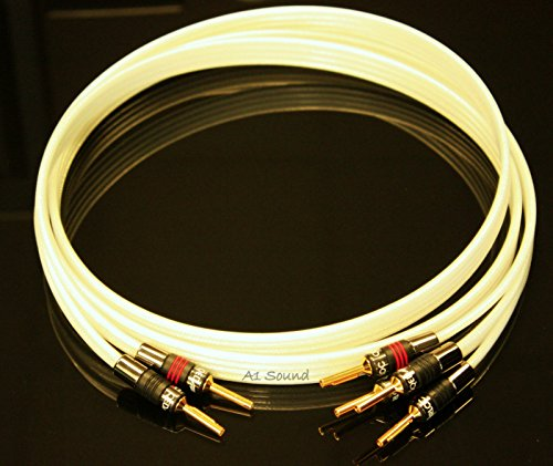 QED Reference Silver Anniversary XT Bi-Wire Speaker Cable 3 Metre Single...