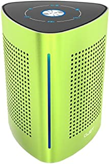 UJOY Bluetooth Portable Vibration Speakers -36 Watts -with Super Enhanced Powerful Extra Bass -3 Modes Sound Channels - Vibrating Speakers for Computer, iPhone, Android Phones Green