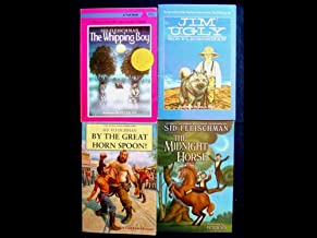 Sid Fleischman Set (The Whipping Boy, By the Great Horn Spoon, Midnight Horse, Jim Ugly)