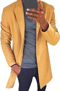 eipogp Windbreaker Jackets for Men,Solid Breathable Cashmere Hoodie Zipper Outdoor Waterproof Raincoat