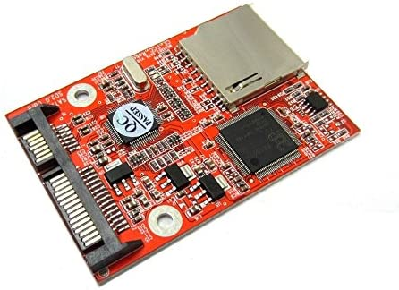 Super beauty product restock quality top! SD SDHC MMC Max 80% OFF to Adapter Card SATA Converter