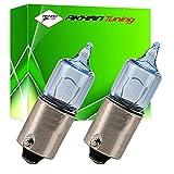 B9XC5W - Blanca de Canbus SMD LED lámpara bombilla de repuesto luces de posición H6W H5W BAX9S 12V 5x SMD Numero de luz de la placa Interior de luz del coche (No Error)