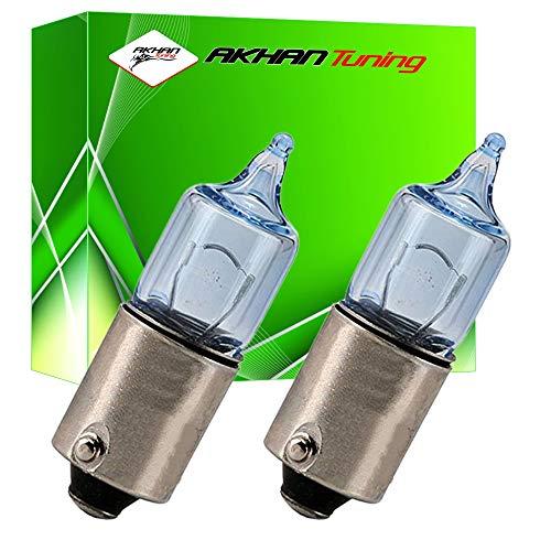 B9XC5W - Blanc Canbus SMD LED lampe ampoule de rechange feux de position H6W H5W BAX9S 12V 5x LED SMD éclairage de plaque d'immatriculation éclairage intérieur (pas d'erreur)