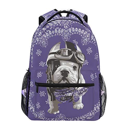 Cooler cyclus hondjes schouderrugzak bookbag voor tieners jongens meisjes kinderrugzak laptop boektas rugzakken