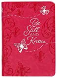 Be Still and Know: 365 Daily Devotions (Imitation/Faux Leather) – Motivational Devotionals for People of All Ages, Perfect Gift for Friends, Family, Birthdays, Holidays, and More