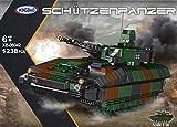 Xingbao Schützenpanzer Puma, Bundeswehr (Klemmbausteine) ArtikelNr. XB-06042, Teileanzahl: 1238