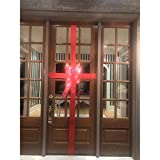 Old Home Kitchen Lighted Holiday Bow - Decorate Your Front Door