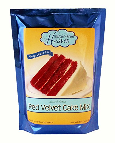 Gluten-Free Red Velvet Cake Mix