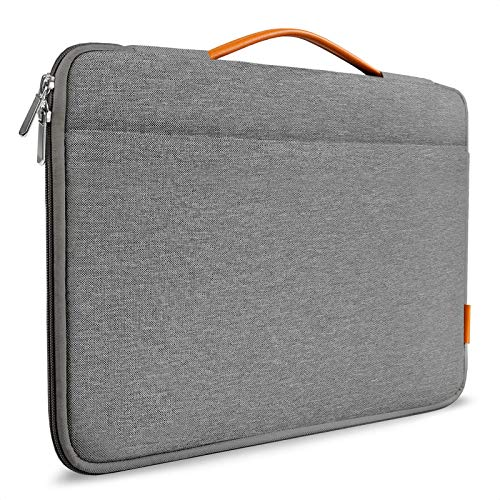 Inateck 12.3-13 Inch Laptop Sleeve Case Compatible with Surface Pro X/7/6/5/4/3, MacBook Pro 2018-2020, MacBook Air 2020/2018, MacBook 13 M1, iPad Pro 12.9 M1 2021/2020 Surface Laptop Go - Dark Grey