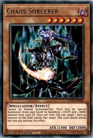 Chaos Sorcerer - TOCH-EN028 - Rare - 1st Edition