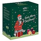 3Bears Adventskalender für eine leckere & gesunde Weihnachtszeit | gefüllt mit 7 cremigen Porridge-Sorten für ein kerniges Winter-Frühstück & bärigen Überraschungen | zum selber Freuen & Verschenken