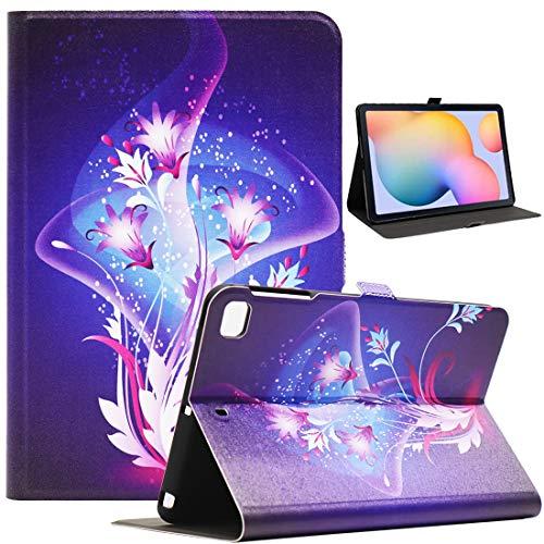 Bbjjkkz iPad Mini Case, Case for iPad Mini 4, iPad Mini 5 Case, iPad Mini 2/3 Case, Ultra Slim PU Leather Folio Smart Stand Case for 7.9 Inch iPad Mini 2/3/4/5 Tablet, Mysterious Flower