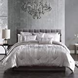 Riverbrook Home Turin Comforter Set, King, Silver 7 Piece
