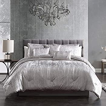 Riverbrook Home Turin Comforter Set King Silver 7 Piece