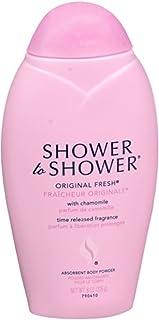 SHOWER TO SHOWER Body Powder Original Fresh 8 oz (Pack of 5)