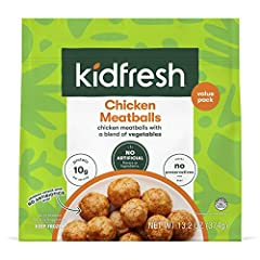 Mighty Meaty Chicken Meatballs Food Items cannot be return