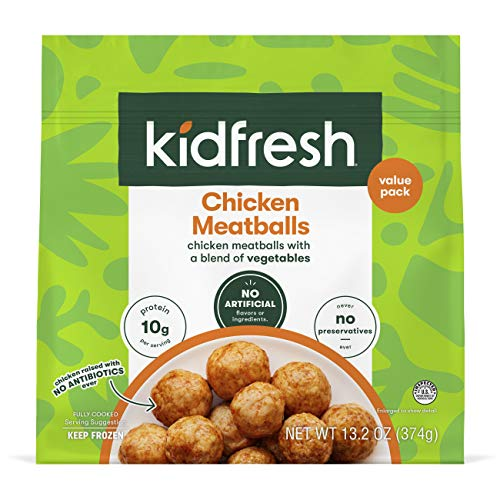 Kidfresh Mighty Meaty Chicken Meatballs, 13.2...