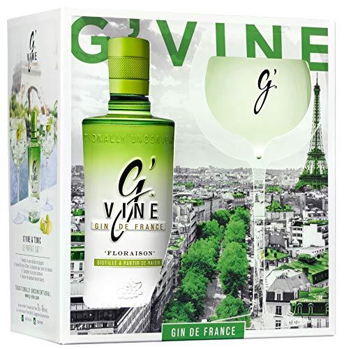 G'Vine Floraison + Glas GB 40% Gin (1 x 0.7 l)