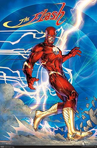 Trends International DC Comics - The Flash - Jim Lee Wall Poster, 22.375' x 34', Premium Unframed Version