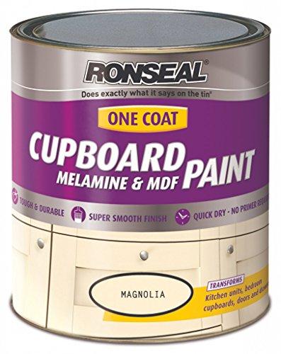 Ronseal 36984 Magnolia OC Cupboard Paint Satin 750ML