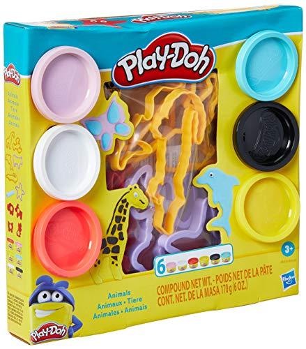 Conjunto Massinha, Play-Doh, E8535, Animais - Hasbro, Variadas