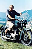 Poster The Great Escape Steve McQueen Bike Hills 60 x 91 cm