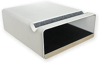 Soporte de pared para bicicleta - V Shelf blanco, diseño