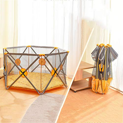 Buy Bargain Children's Fencing with Baby Artifact, Baby Fence, Indoor/Outdoor Game Fence, Foldable T...