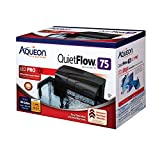 Aqueon QuietFlow LED PRO Aquarium Power Filter, Size 75