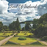 """Soul Of Ireland Calendar 2022: Wall And Office Organizer 2022, Size 8.5"""" x 17"""" When Open 