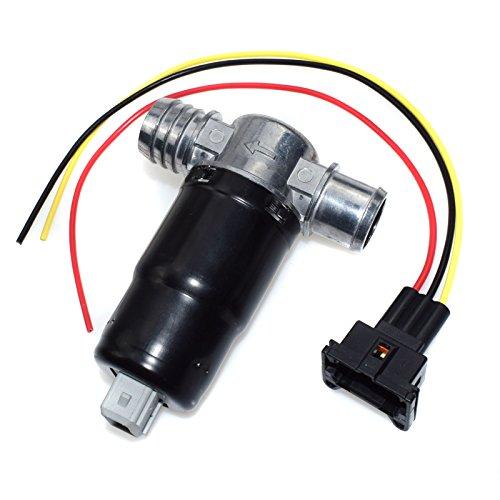 eGang Auto Nouvelle soupape de Commande d'air de ralenti IAC/connecteur de Fil 13411433626 pour BMWS E30 E34 E36 M20 M50 320i 325i 325is 325ix 520i Z1