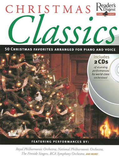 Price comparison product image Christmas Classics: Reader's Digest Piano Library Book / 2-CD Pack
