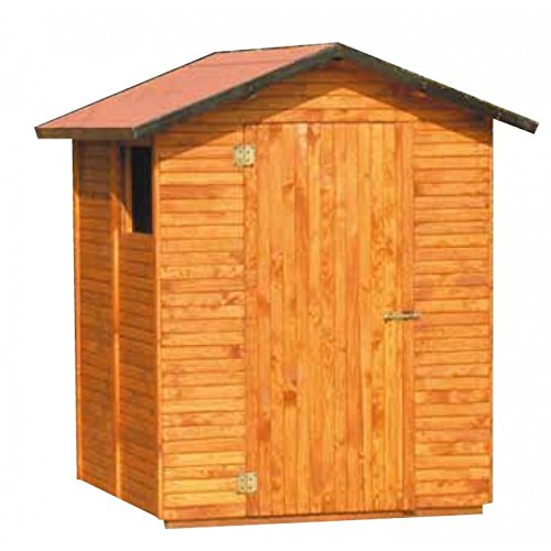 Casetta in legno a pannelli Madrid mm 1600 x 1640 x 2250h