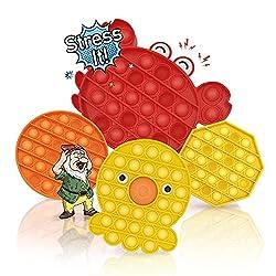 🎲 𝐒𝐓𝐑𝐄𝐒𝐒 𝐈𝐓! 🎲 è un giocattolo anti stress innovativo. Questo giocattolo sensoriale è perfetto per rilassarsi in qualsiasi occasione, soprattutto quando ci troviamo in situazioni di ansia, stress o pressioni. Si posiziona come un perfetto compagno di...