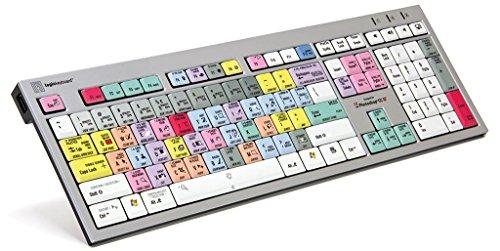Logickeyboard Designed for Adobe Photoshop CC - PC Slim Line Keyboard- Windows 7-10...