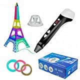 WILLY HOME Lapiz 3D PRO - Boligrafo 3D, Plumas Manualidades, Pluma 3D, Boli 3D, Bolígrafo 3D, 3D Pen, Lápiz 3D, Lápiz 3D para Niños, Boli 3D para Niños, Bolígrafo 3D Niños, Pen 3D