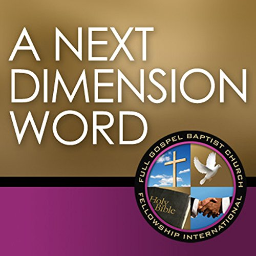 A Next Dimension Word audiobook cover art