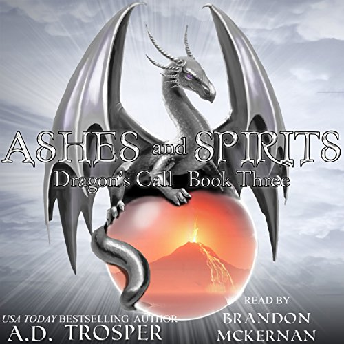 Ashes and Spirits audiobook cover art