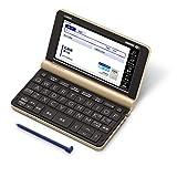 カシオ 電子辞書 生活・教養エクスワード XD-SX6500GD 160コンテンツ シャンパンゴールド XD-SXN65GD アマゾンオリジナルセット 2020年モデル
