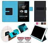 reboon Hülle für Allview WI7 Android Tasche Cover Case Bumper | in Schwarz | Testsieger