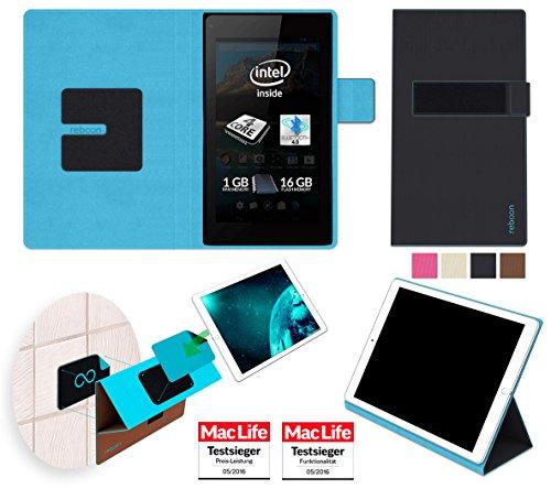 reboon Hülle für Allview WI7 Android Tasche Cover Case Bumper   in Schwarz   Testsieger