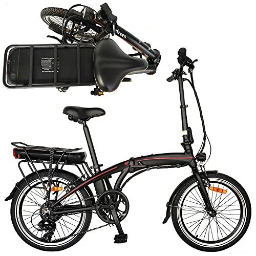 Folding Sport Bicicletta Bici Pieghevole Bicicletta elettrica per adulti endurance da 50 km Bicicletta pieghevole Pure con camb