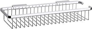 Inda A0453HCR Hotellerie Storage Basket, Shower Accessories, Brass, Chrome 14 x 39 x 7 cm