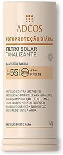 Filtro Solar Tonalizante FPS 55 Base Stick Nude (12g) - ADCOS