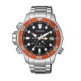 Citizen Watches BN2039-59E Aqualand Silver Tone One Size