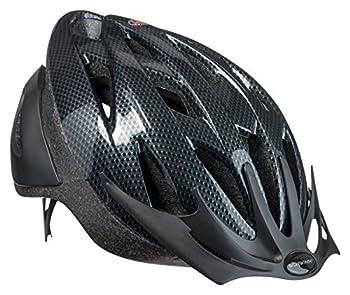 Schwinn Thrasher Bike Helmet Lightweight Microshell Design Adult Carbon