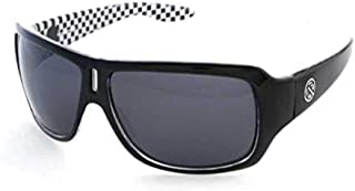 Filtrate Eyewear ZEPHYR Sunglasses- Black Checks with Grey Polarized Lenses 00