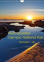 Weltnaturerbe Olympic National Park (Wandkalender 2022 DIN A4 hoch): Der Olympic National Park ist UNESCO Biosphaerenreservat und Weltnaturerbe und bietet in einer einzigartigen Art und Weise das Erleben unberuehrter Natur (Monatskalender, 14 Seiten )